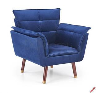 Кресло REZZO halmar синий