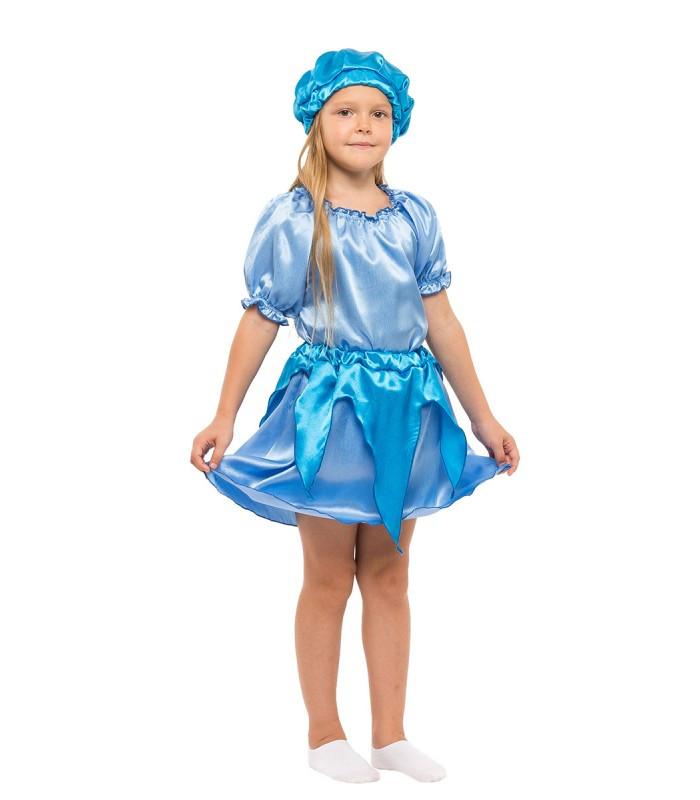 Маскарадний комплект для дівчинки Крапелька, Струмочок, Хмаринка, Хмаринка блакитного кольору