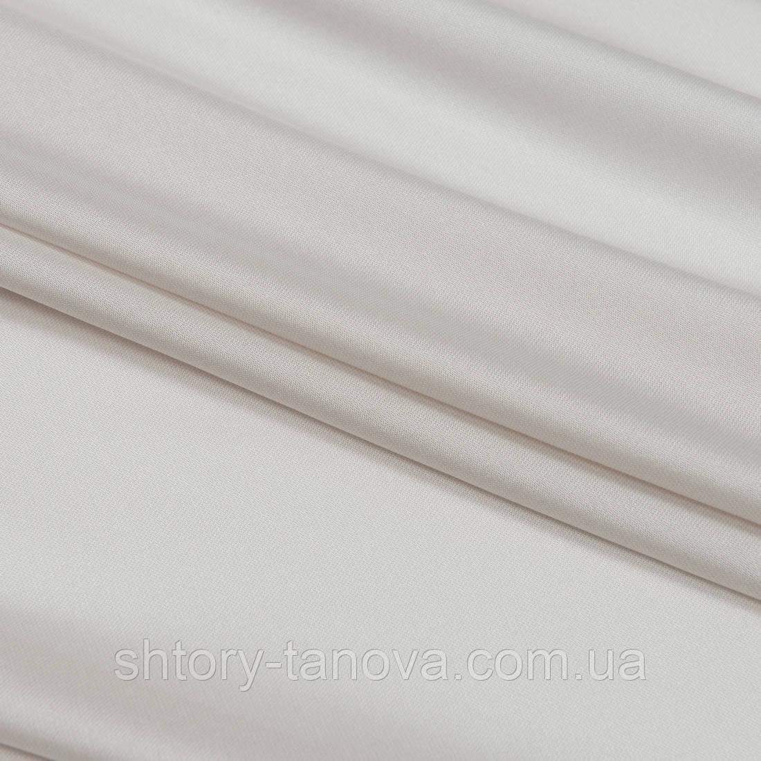 Тюль с утяжелителем злата крем-брюле
