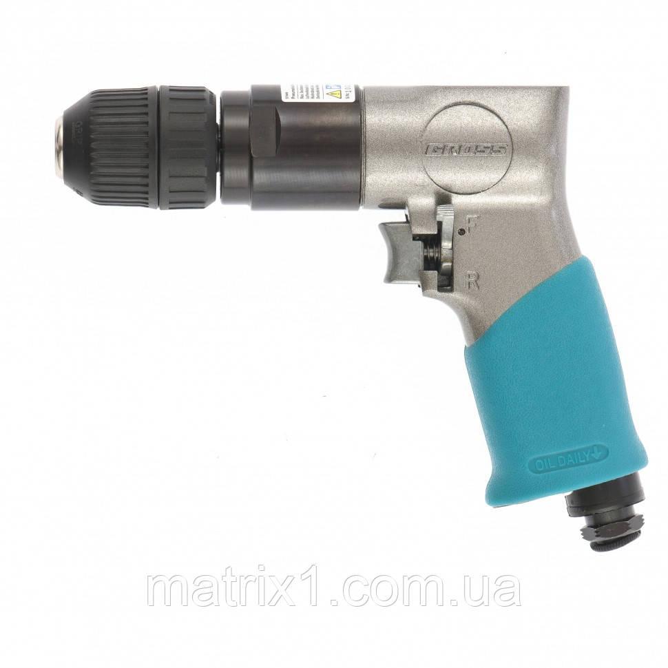 Дрель пневматическая G302, 3/8, 1800 об/мин, патрон 10 мм. GROSS
