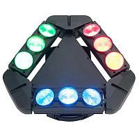 Світлодіодний бім ефект POWER light SPIDER QL-0910, фото 1