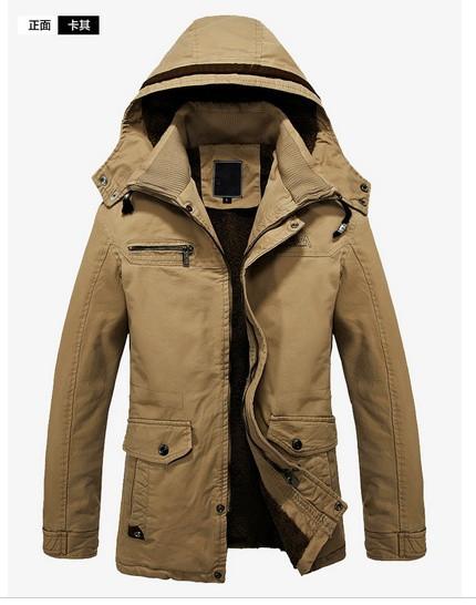 Мужское зимнее пальто. Модель М27-н