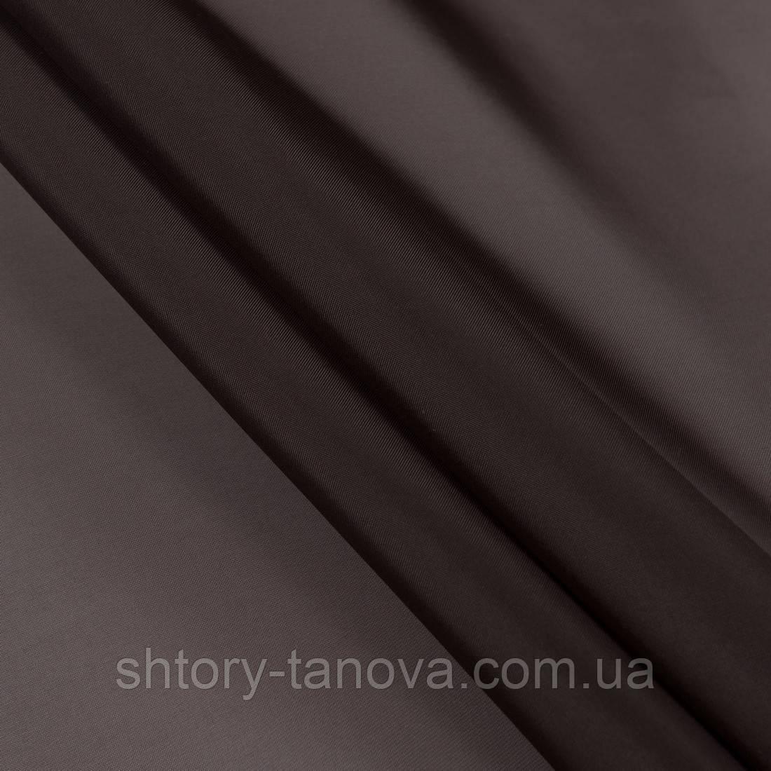 Тюль вуаль черный шоколад