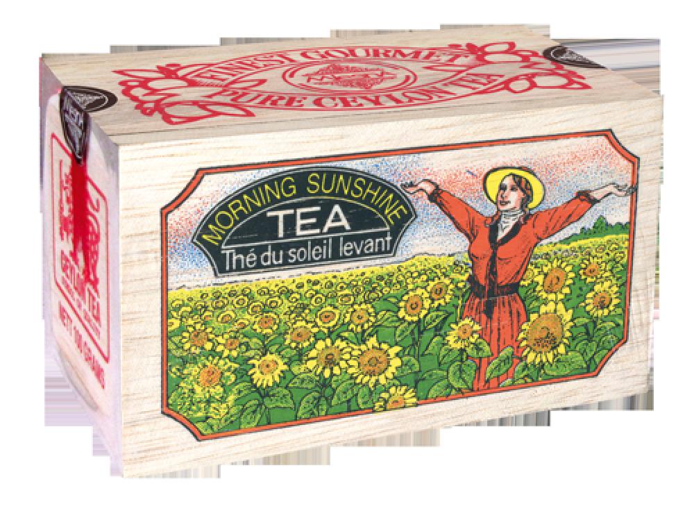 Черный чай Утренний рассвет, MORNING SUNSHINE BLACK TEA, Млесна (Mlesna) 100г.