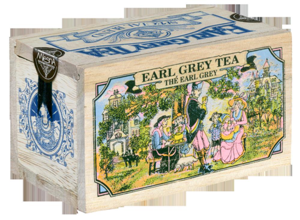 Чорний чай Ерл Грей з ароматом бергамоту, EARL GREY BLACK TEA, Млесна (Mlesna) 100г.