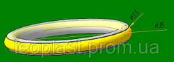Бесшумная вставка  кованое кольцо 19мм
