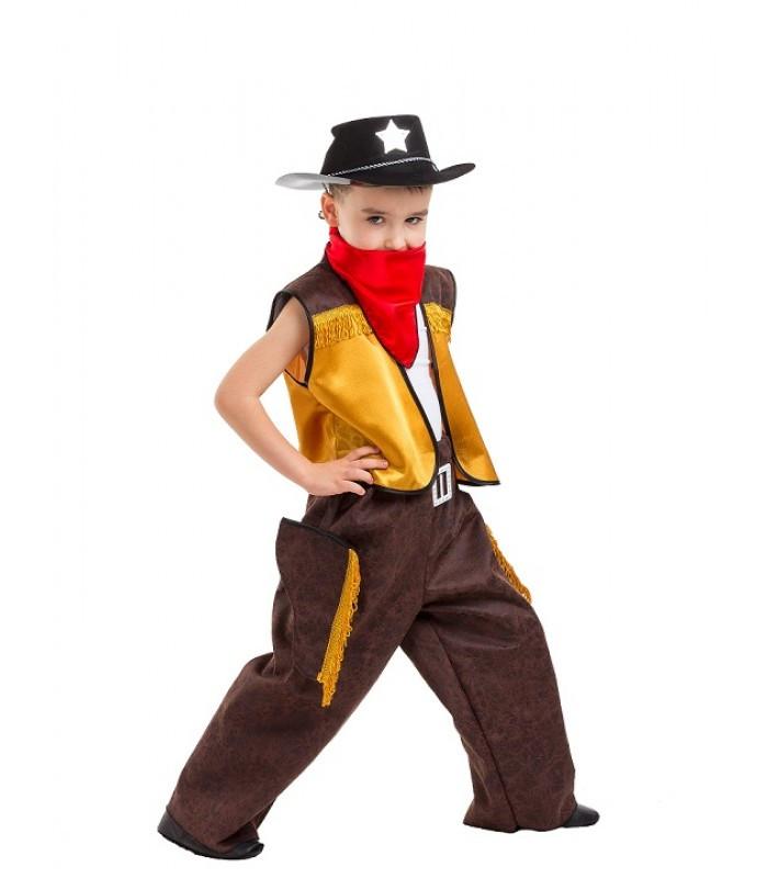 Маленький Ковбой маскарадный костюм для мальчика на выступление, костюмированную вечеринку