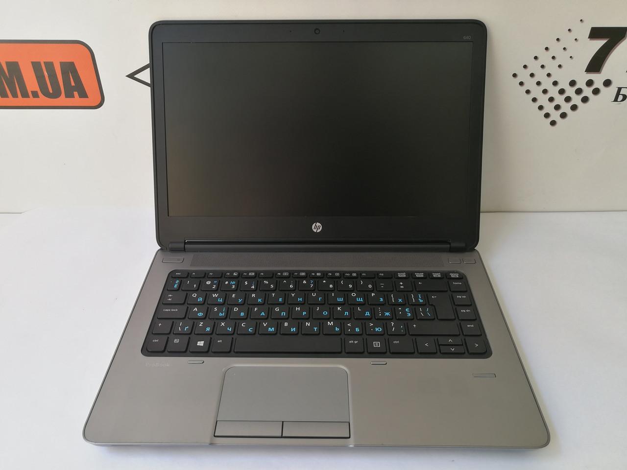 "Ноутбук HP EliteBook 640, 14"", Intel Core i5-4210M 3.2GHz, RAM 4ГБ, HDD 320ГБ"