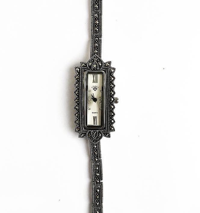 Часы из капельного серебра 925 My Jewels классические 4