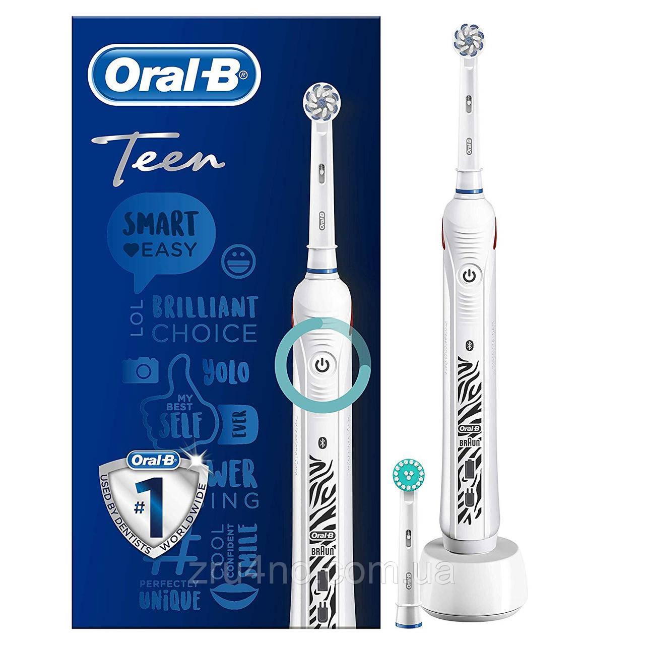 Електрична зубна щітка Braun Oral-B Teen D601.523.3, Bluetooth