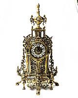 Настольные каминные часы из португальской бронзы Virtus 1945 высота 23 см