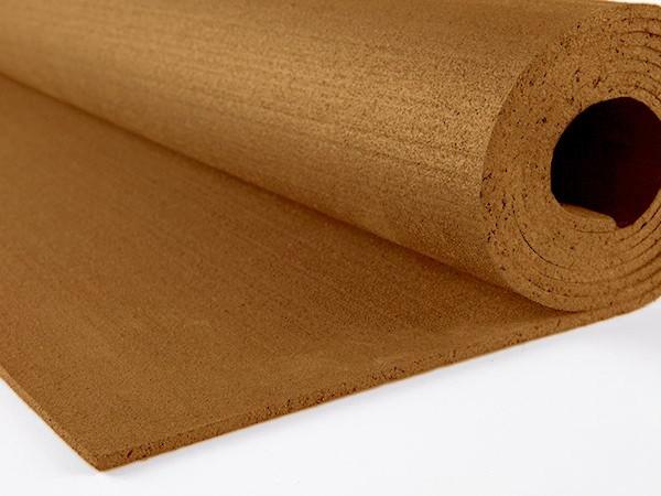 Резиновый коврик 1500х700х10 коричневый
