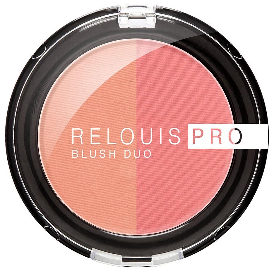 Румяна компактные RELOUIS PRO BLUSH DUO 201