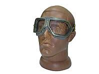 Очки ЗП1-80 стеклянные с металлической оправой защитные закрытые с прямой вентиляцией, фото 1