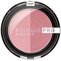 Румяна компактные RELOUIS PRO BLUSH DUO 202