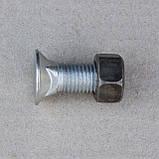 Болт М16х45 крепления переднего ножа ДЗ-425.01.02.03 отвала с квадратной подголовкой трактора ДТ-75,Т-150,Т151, фото 2