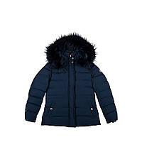 Куртка для девочки Mixture синяя 128 см GG631432N