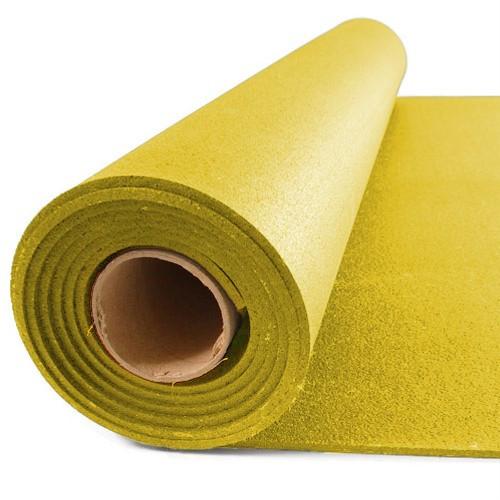 Резиновый коврик 1200х2400х15 желтый