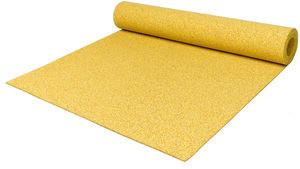 Резиновый коврик 1200х2400х15 ярко-желтый