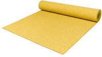 Резиновый коврик 1200х2400х15 ярко-желтый, фото 1