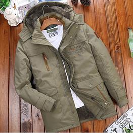 Мужская теплая осенняя куртка. Модель 61630-н