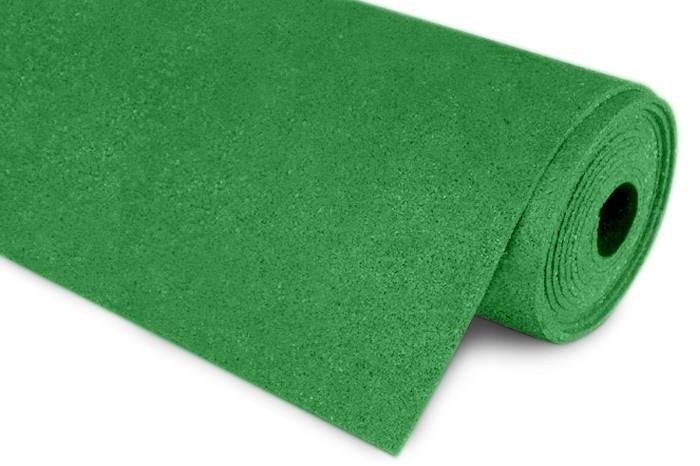 Резиновый коврик 1200х2400х15 мятный
