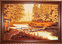 Картина из янтаря. Пейзаж 35
