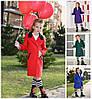 Детское подростковое кашемировое пальто 17261