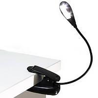 Светодиодная лампа на батарейках с прищепкой USB фонарик