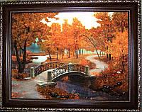 Картина из янтаря. Пейзаж 36