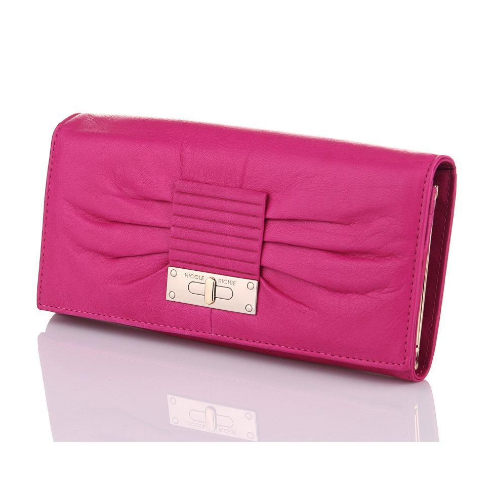 Розовый кошелек Nicole Richie 1301 Pink