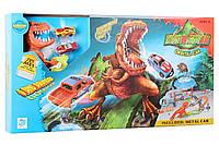 Гоночный трек Hot Wheels Парк Динозавров Хот Вилс