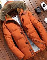 Зимний мужской пуховик. Модель 61576-1