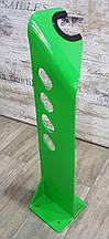 Стойка для велосипеда уличная, сталь 6 мм Зеленая/Оранжевая