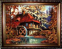 Картина из янтаря. Пейзаж 38