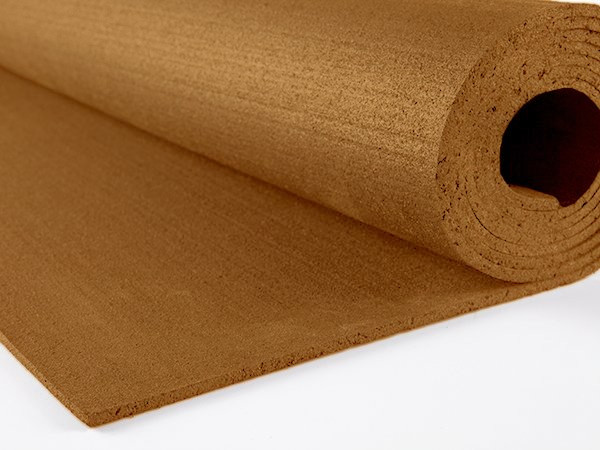 Резиновый коврик 1500х700х15 коричневый