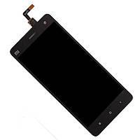 Дисплей (экран) для Xiaomi Mi4 ксиоми + тачскрин, цвет черный