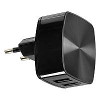 СЗУ Remax (OR) 2USB 2.4A Black (RP-U215) + USB Cable iPhone 7