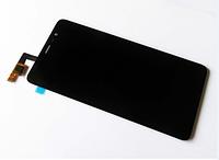 Дисплей (экран) для Xiaomi Redmi Note 3, Redmi Note 3 Pro ксиоми + тачскрин, цвет черный, 147x73 mm