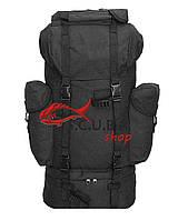 Экспедиционный армейский черный рюкзак Бундесвер 65 л
