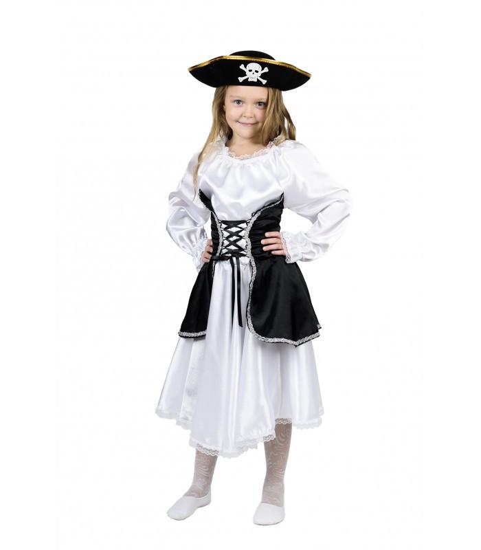 Детский маскарадный комплект девочки Пиратки, костюм на новогодний карнавал