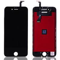 Дисплей (экран) для iPhone 6 Plus (5.5) айфон + тачскрин, цвет черный, ОРИГИНАЛ