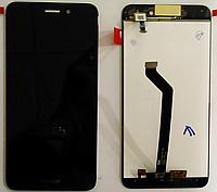 Дисплей модуль Huawei Enjoy 6s, Honor 6C, Nova Smart, чорний, оригінальний, DIG-L01/DIG-L21HN