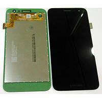 Дисплей модуль Samsung J260 Galaxy J2 Core, чорний, оригінальний