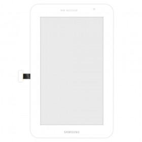 Сенсорний екран для планшету Samsung P6200 Galaxy Tab Plus, білий
