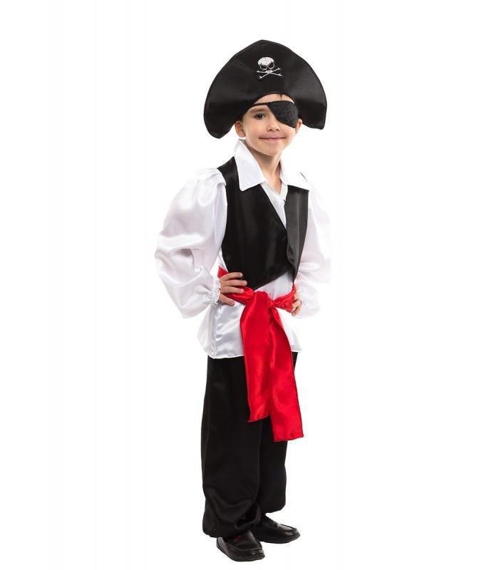 Відважний підкорювач морів, маскарадний костюм Пірат для хлопчиків