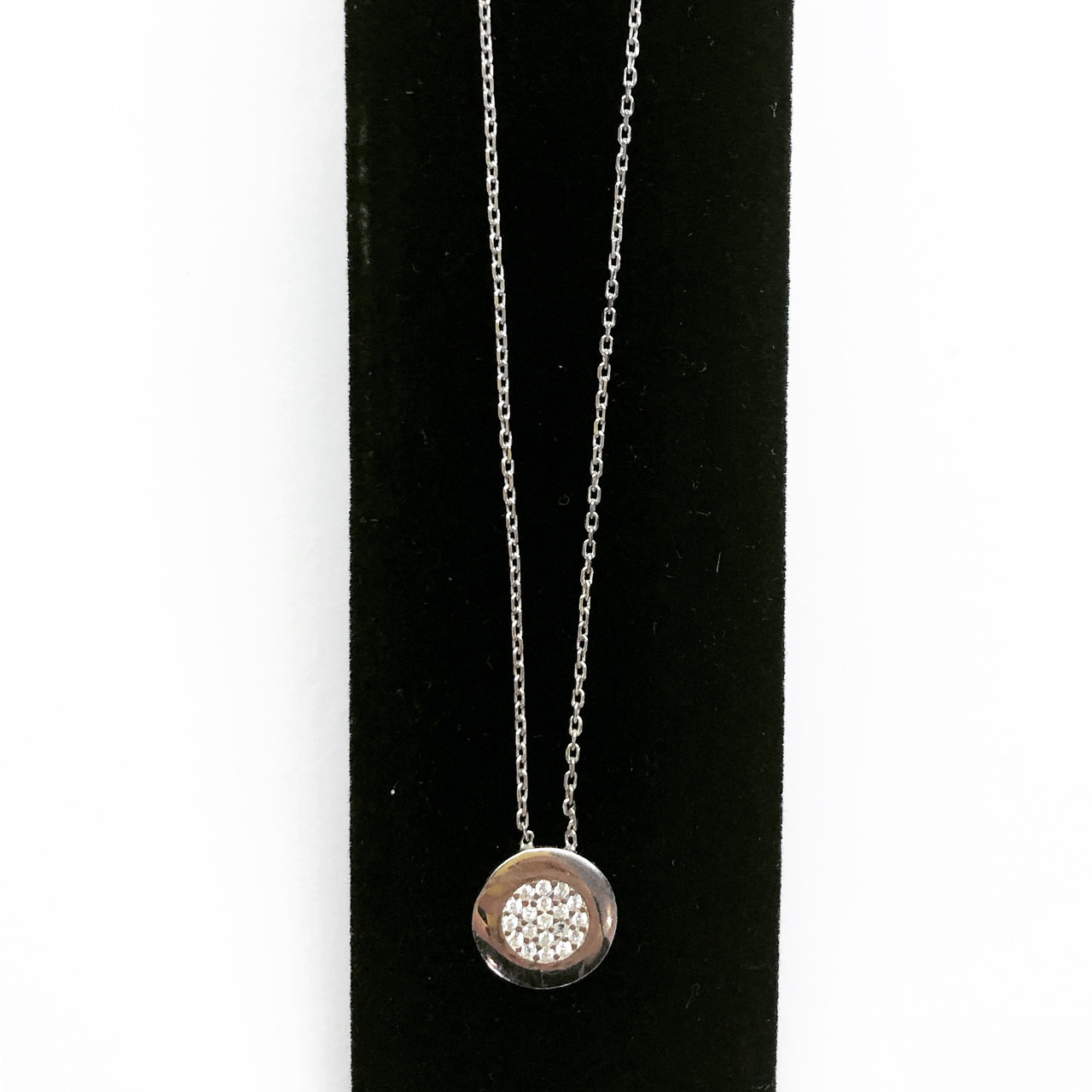 Кулон из серебра в стиле Cartier