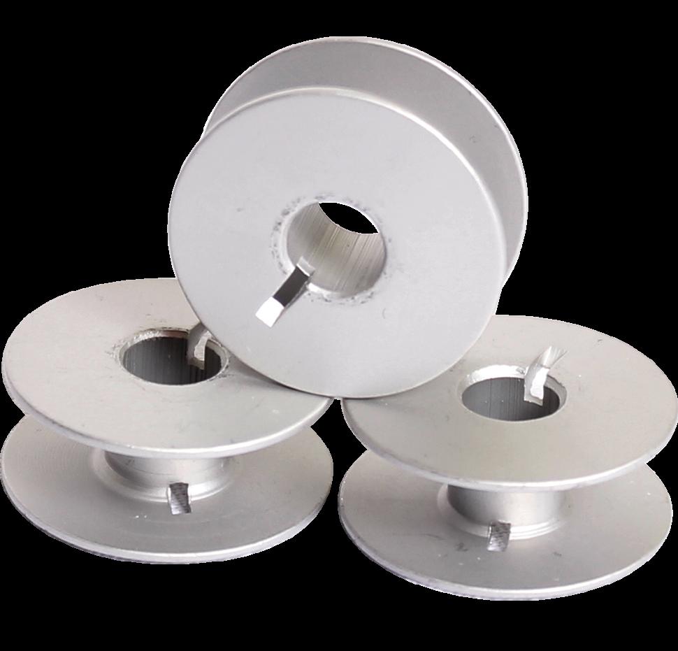 Snyter Type-C, алюминиевая шпулька c фиксатором для промышленных швейных машин со стандартным челноком