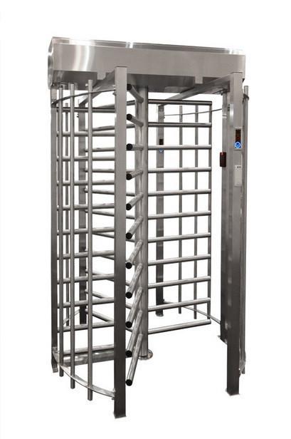 Турникет полноростовой однопроходной SESAME 120°, полированная нержавеющая сталь