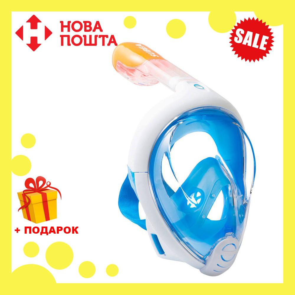 Инновационная маска для снорклинга подводного плавания Easybreath, фото 1